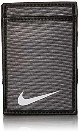 Nike Men's Tech Essentials Magic Wallet, Light Charcoal