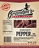 Cheap Low Carb Spicy Beef Jerky Snacks: 3 Pack of Ghost Pepper Meat Strips – Grandpa's Beef Jerky