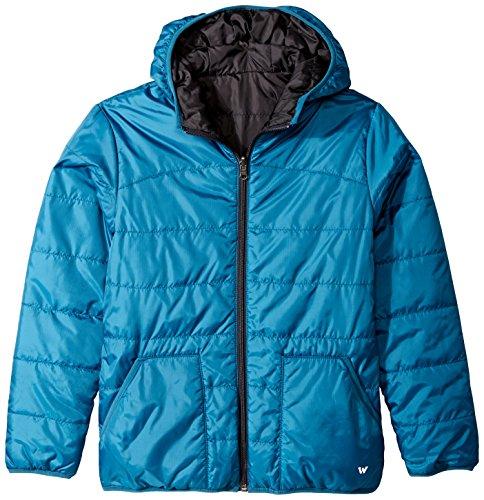 - White Sierra Boys Zephyr Reversible Jacket, Legion Blue, Medium