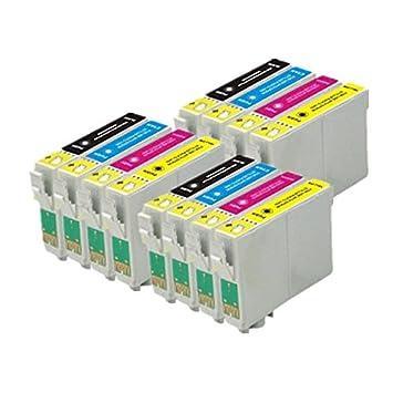 12 ECS cartucho de tinta compatible reemplazar T1285 para lápiz ...