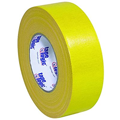 "Tape Logic T987100Y 10.0 Mil Duct Tape, 2"" x 60 yd, Yellow (Pack of 24) by Tape Logic"