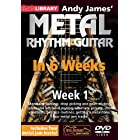 Andy James' Metal Rhythm Guitar in 6 Weeks – Week 1 – DVD