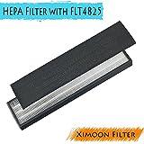 Pokin True HEPA Filter B for GermGuardian FLT4825 FLT4800 Air Purifiers models AC4300