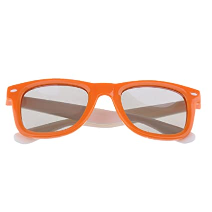 Homyl 1 Gafas 3D Polarizadas para Ver Películas Accesorios de imagen y sonido DVD Cine -