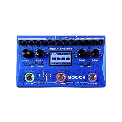 MOOER Electric Guitar Single Effect, Blue (TDL3)