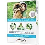 Arava Natural Flea & Tick Prevention for Dogs – 4-Doses - 100% Safe Dog Flea & Tick Control - Repels Pests with Natural Oils - Safe on Skin and Coats - Enhanced Defense & Prevention (3 Variations)