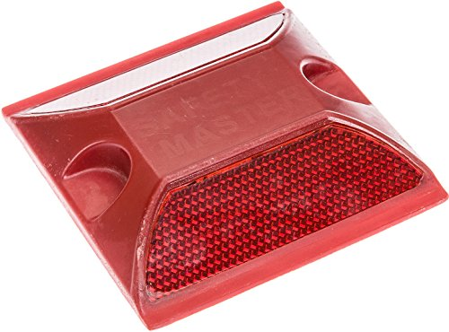 - Road Pavement Marker - Commercial Grade Reflective Road Stud (Red)