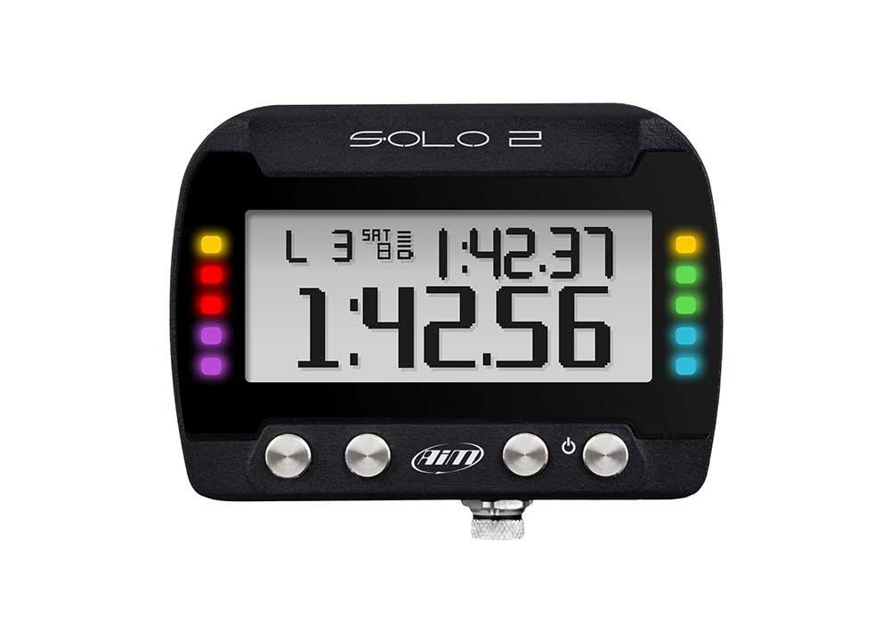 AIM SPORTLINE SOLO2 GPS BACKLIT LED LAP TIMER (X47 SERIES)