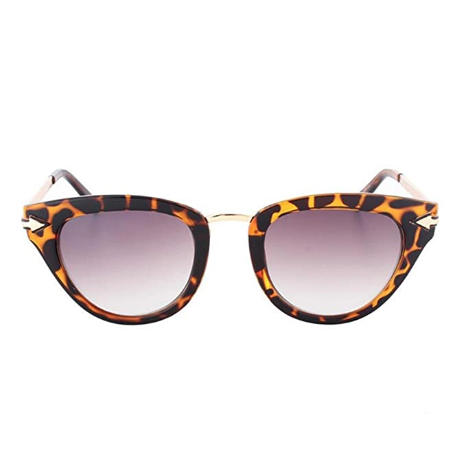 luyee Retro gafas de sol afluencia de personas Negro Carey ...