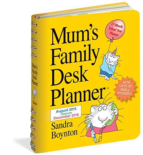 Mums Family Desk Planner 2016 (2016 Calendar)