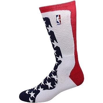 NBA veterano del día de estrellas y rayas calcetines, NBA