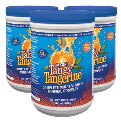International Shipping  Beyond Tangy Tangerine 420G Canisters Youngevity Multivitamin Mineral Complex Dr Wallach By Youngevity