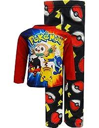 Pokemon Sun & Moon Characters Fleece Pajamas for boys