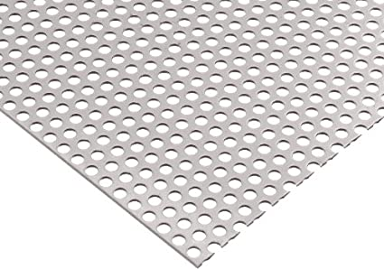 Amazon.com: 304 de acero inoxidable perforadas hoja, astm-a ...