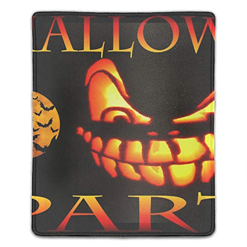 Scary Halloween Non-Slip Rubber Mousepad Custom Gaming Mouse Pad Rectangle -