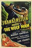 Frankenstein Meets the Wolfman Movie Poster
