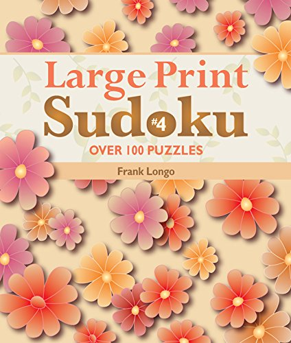 Download Large Print Sudoku #4: Over 100 Puzzles pdf