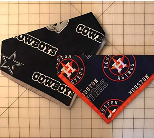Bandana Pup (Houston Astros/Dallas Cowboys Dog Bandana)