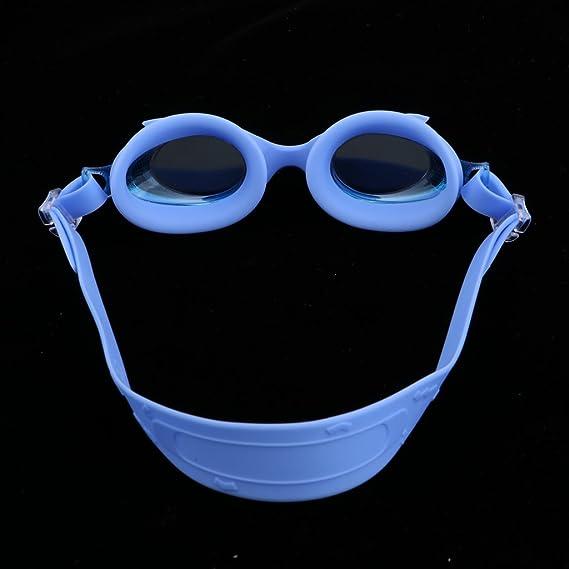 e369d078a Sharplace 1 Unidad de Gafas de Natación para Niños Hecho de Silicona - Azul:  Amazon.es: Deportes y aire libre