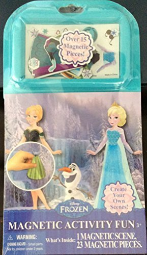 Activity Fun Set (Disney Frozen Magnetic Activity Fun 24 Pieces)