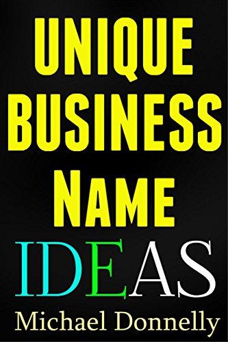 Unique Business Name Ideas