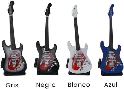 Hogar y Más - Guitarra en Miniatura Replica Fender Stratocaster ...