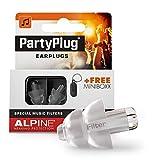Alpine MusicSafe PartyPlug Tapones para los oídos, PartyPlug, Transparente