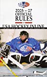 2005-2007 Official Rules of USA Hockey Inline, Triumph Books Staff, 1572437820