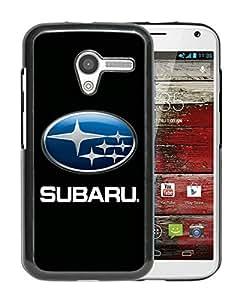 Beautiful Designed Case With Subaru Logo Black For Motorola Moto X Phone Case