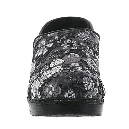 Sanita Clogs Casual Women's Calico Black r0xwqrHv6