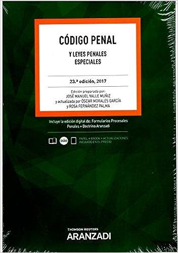 Código Penal Papel + e-book : y Leyes Penales Especiales Código Básico: Amazon.es: Fernández Palma, Rosa, Morales García, Oscar, Valle Muñíz, José Manuel: Libros