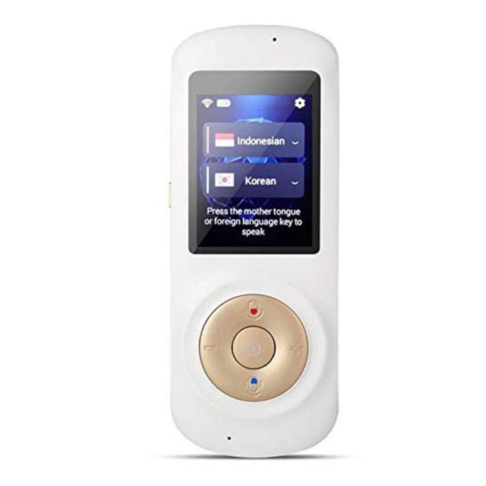 即席音声言語の翻訳装置、旅行ビジネスショッピングを学ぶためのスマートな対面WiFiのタッチ画面の携帯用翻訳   B07QD3M34R