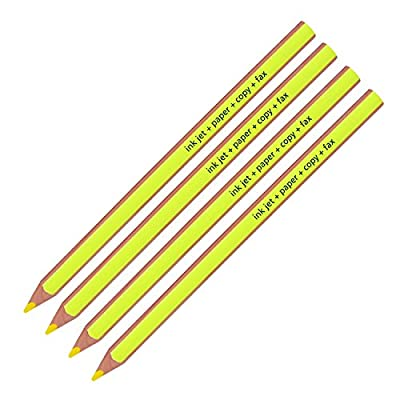Staedtler Textsurfer Dry Highlighter Pencil 128 64 Drawing for Writing Sketching Inkjet,paper,copy,fax(pack of 4)