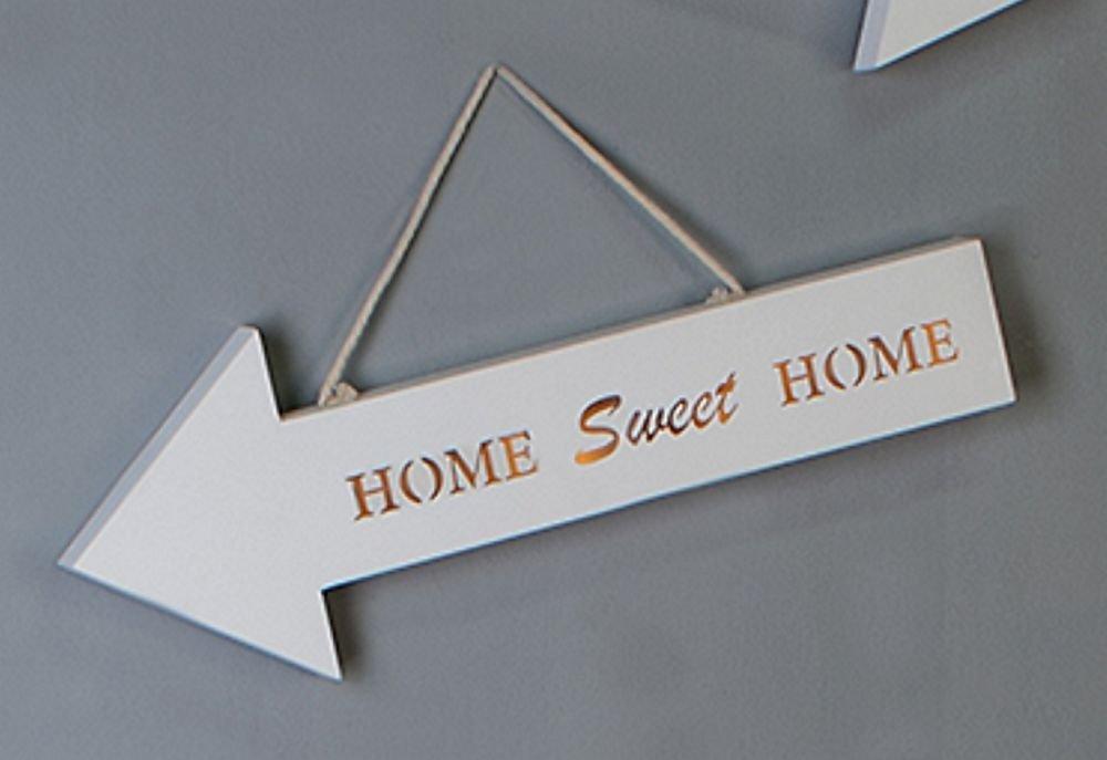 Cartel LED con Texto Izquierda Home Sweet Home Madera ...