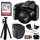 Panasonic LUMIX FZ80 4K Long Zoom Camera (18.1 Megapixels, 60X 20-1200mm Lens) + 32GB Accessory Bundle