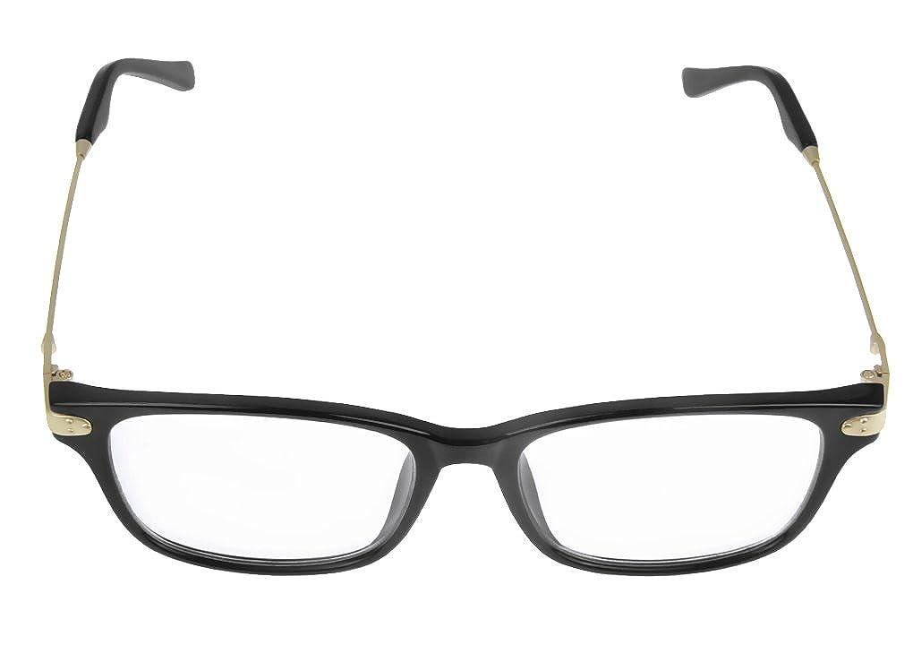 Unisex Trendige Nerd Brille Modebille Sonnenbrille Brille klare ...