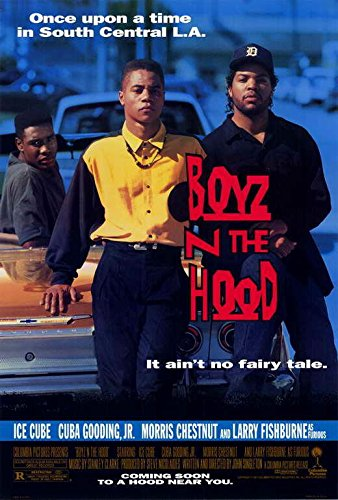(Boyz n the Hood Movie POSTER 27 x 40 Cuba Gooding Jr, Ice Cube, A, MADE IN THE U.S.A.)