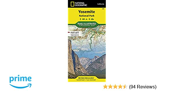 Yosemite National Park (National Geographic Trails Illustrated Map on curry village yosemite map, yosimite national park map, yosemite backpacking map, yosemite ca map, south lake tahoe lodging map, sequoia national park lodging map, grand canyon lodging map, yosemite hotel map, north pines yosemite map, yosemite nat park map, yosemite california park map, half dome yosemite map, the redwoods in yosemite map, yosemite creek map, yosemite national forest map, yosemite valley map, vail lodging map, yosemite park camping map, yosemite badger pass map, yosemite rv parks map,