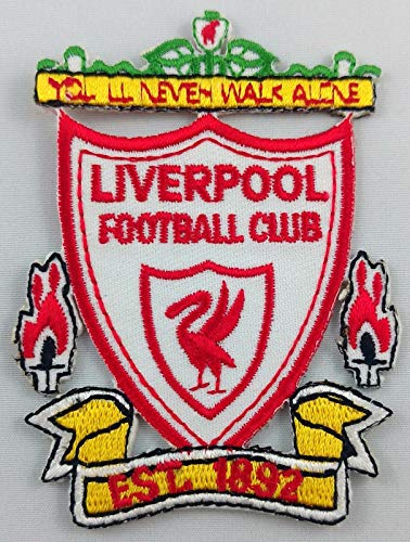 Embroidery Patch Liverpool Football Club FC Soccer Badge Applique 2.25