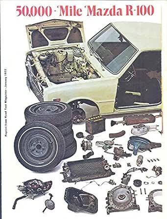 Amazon.com: 1972 Mazda R100 Rotary Engine Brochure ...