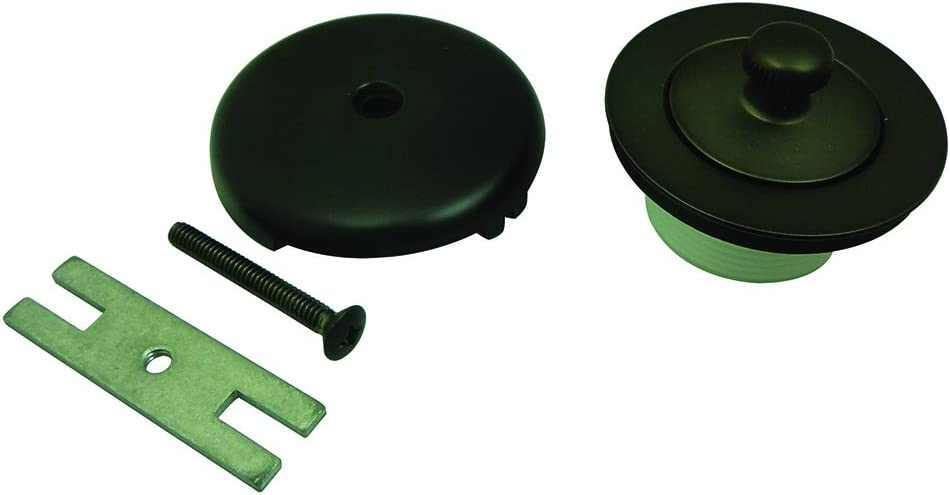 Kingston Brass DLT5301A5 Lift and Turn Tub Drain Kit, Oil-Rubbed Bronze