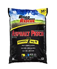 Eliminate your pavement problems simply, inexpensively and permanently with Road Rescue Asphalt Patch. Simply sweep out the area to be filled, pour in material and compact with a car tire or tamper. Road Rescue covers 7 sq. ft. at a depth of ...