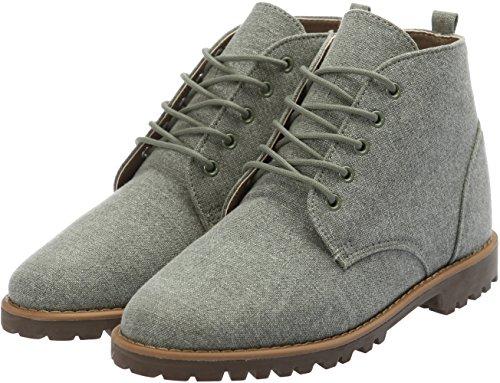 Tall Casual Fabric 5 Mens Shoes 028 Boots Khaki Holes Gadae Up Chukka EYHXqt