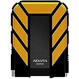 ADATA AHD710-1TU3-CYL - Disco duro externo robusto de 1TB, alta velocidad USB 3.0, resistente al agua, al polvo y a impactos de grado militar IP68, color negro
