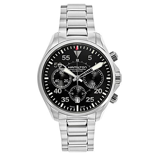 Hamilton Khaki Aviation Pilot Auto Chrono Men's Automatic Watch H64666135 by Hamilton