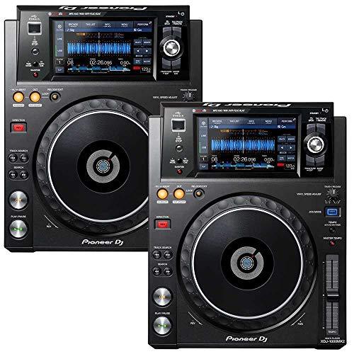Pioneer DJ 2x XDJ-1000MK2 Bundle