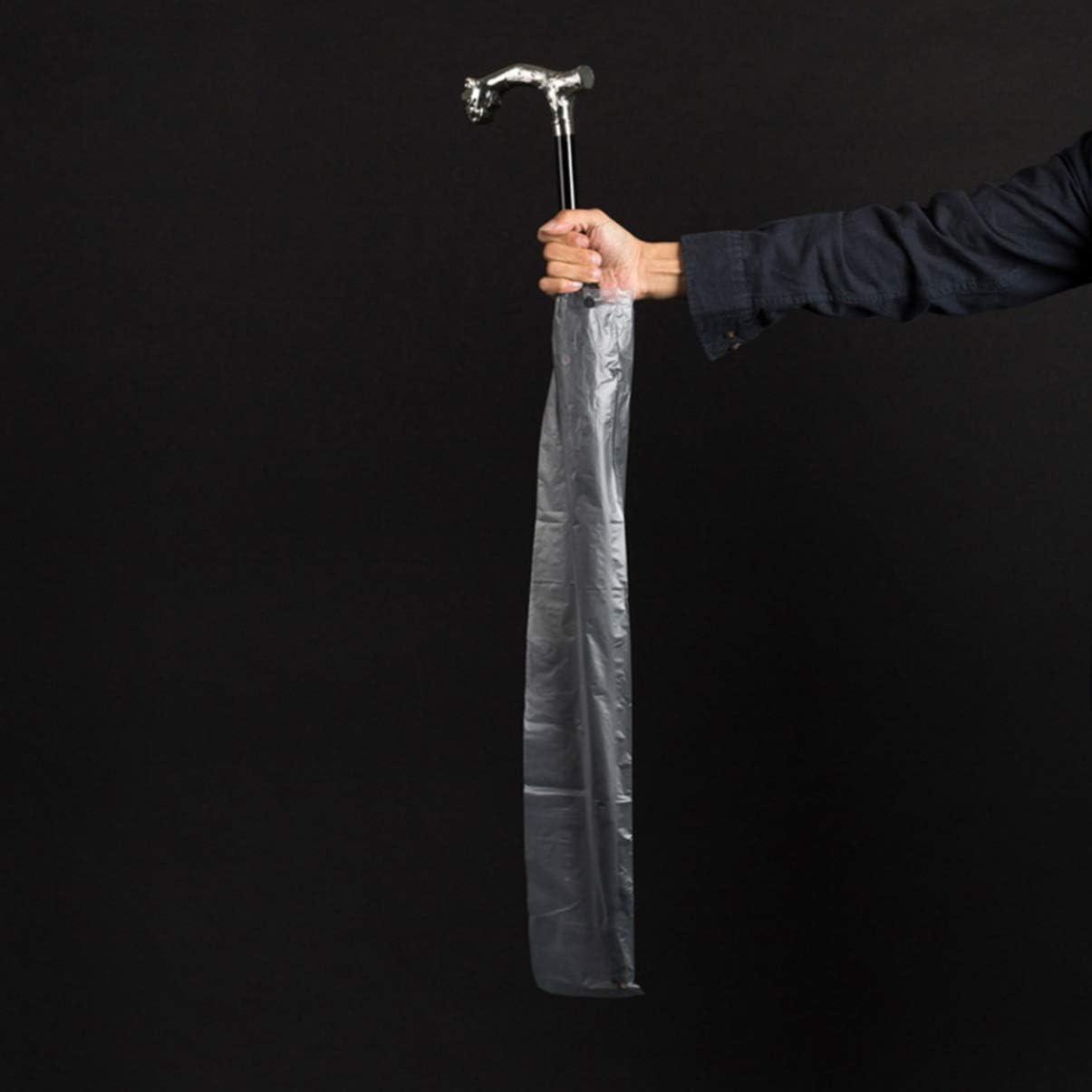 DOITOOL 100 pz 13x72 cm Wet Ombrello Borse Lunghe Ricariche Universale Misura per Ombrelli Avvolgitore Macchina Casa Auto Negozio