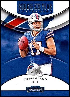 2018 Panini Contenders Rookie of the Year Contenders  RYA-JA Josh Allen  Buffalo Bills RC Rookie NFL Football Trading Card 21fdb9250