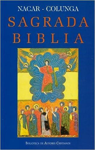Sagrada Biblia Nc Piel Cantos Dorados Biblioteca De Autores