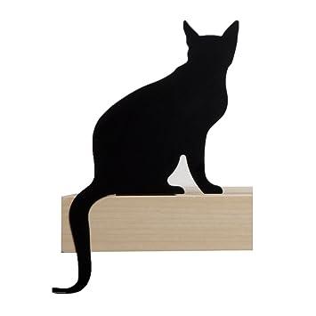 Artori Design CatS Meow | Figura Diva | Silueta de Gato Decorativa metálica | Estatuilla de